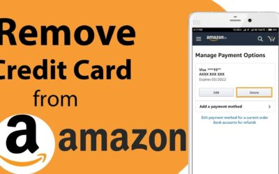 How to remove/delete credit card from Amazon? – Only 6 Steps
