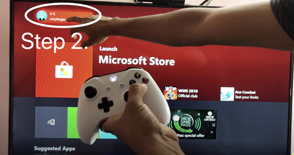 remove credit card from Xbox One console