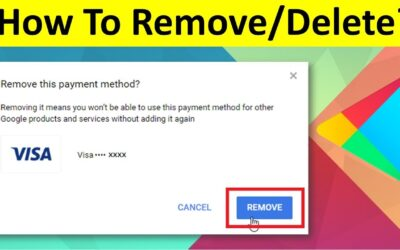 How to remove credit card from Google Play – Only 7 Steps